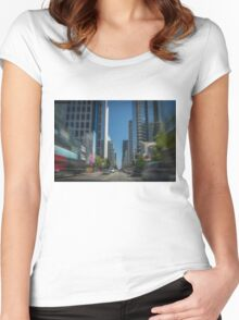 Speed Women's Fitted Scoop T-Shirt