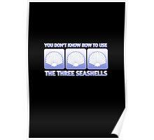 The Three Seashells Poster