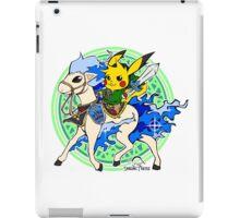 Linkachu and Shiny Ponyta iPad Case/Skin