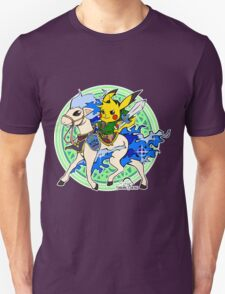Linkachu and Shiny Ponyta T-Shirt