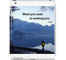 Seeking You iPad Case/Skin