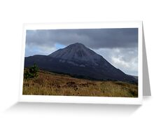 Mount Errigal, Co. Donegal Greeting Card