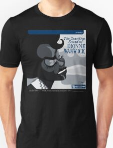 THE SENSITIVE SOUND OF DIONNE WARWICK Unisex T-Shirt