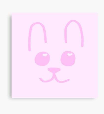 Bunny cuteness Canvas Print