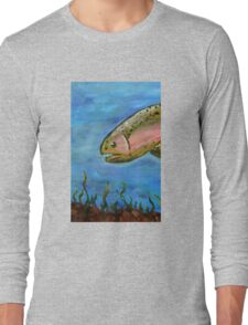 Angry Trout Long Sleeve T-Shirt