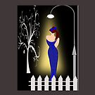 A lady returning from a party (7093 Views) by aldona
