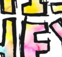 5SOS Logo- Tie Dye Sticker