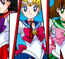 Otaku Word: Sailor Scouts Sticker