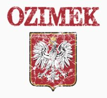 Ozimek Surname Polish Kids Clothes