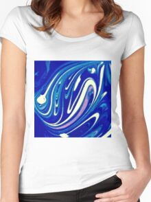 Psychedelic Women's Fitted Scoop T-Shirt