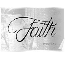 Faith (Philippians 4:13) Poster