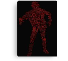 Zombie Survival guide Canvas Print