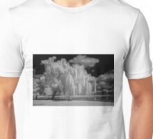 Tree, Clouds and a Pond Unisex T-Shirt