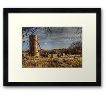 Silence Of The Cows Framed Print