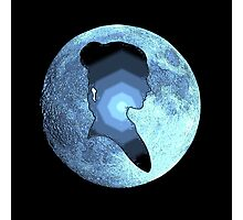 Princess Leia moon Photographic Print