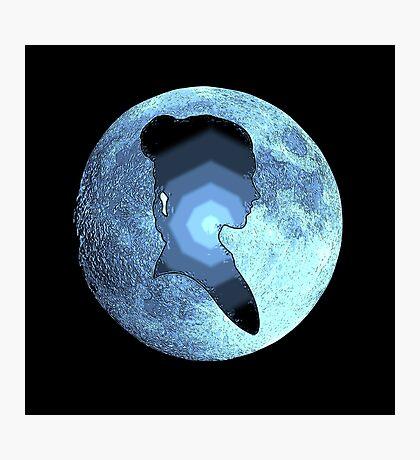 Princess Leia moon Photographic Print