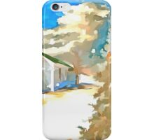 Christmas In The Country iPhone Case/Skin