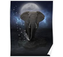 Power Is No Blessing In Itself (Protect the Elephants)  Poster