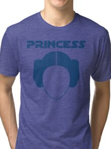 Star Wars Princess Leia Carrie Fisher Tri-blend T-Shirt