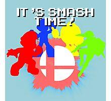 It's Smash Time! Photographic Print