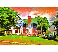 Glick Mansion  Photographic Print