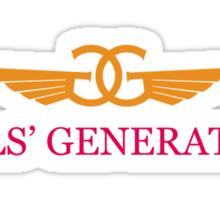 Girls Generation Airlines Sticker