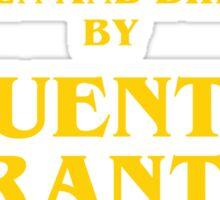Quentin Tarantino Titles Sticker