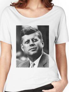JFK - T-Shirt Women's Relaxed Fit T-Shirt