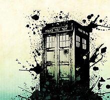 Doctor Who-The Tardis by katsg2312