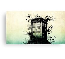 Doctor Who-The Tardis Canvas Print