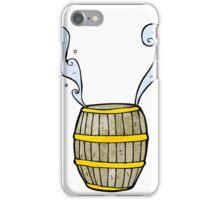 cartoon barrel of water iPhone Case/Skin