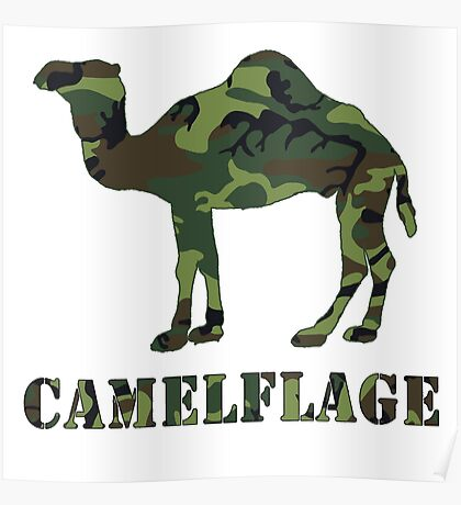 CAMELflaged Poster