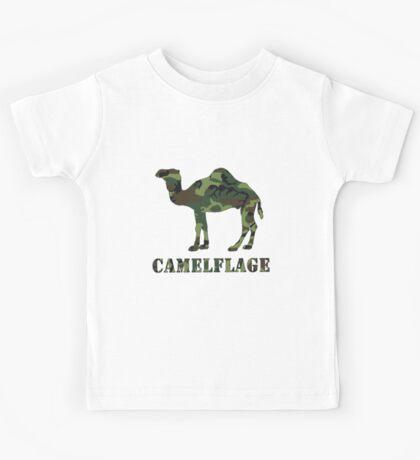 CAMELflaged Kids Tee