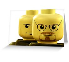Lego Breaking Bad Greeting Card