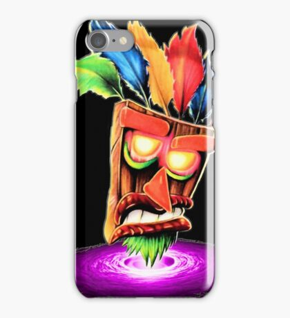 Aku Aku Ooga Booga iPhone Case/Skin