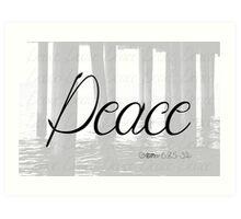 Peace (Matthew 6:25-34) Art Print