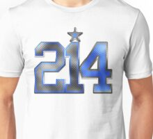 214 Bling (White 21/Blue 4) Unisex T-Shirt