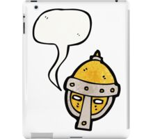 cartoon helmet iPad Case/Skin