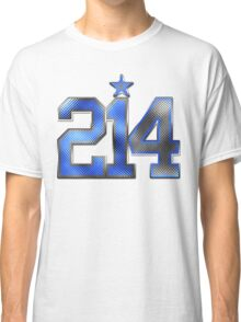 214 Bling (Blue 21/White 4) Classic T-Shirt