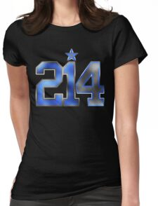 214 Bling (Blue 21/White 4) Womens Fitted T-Shirt