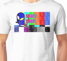 Colorful Spaceghost Unisex T-Shirt