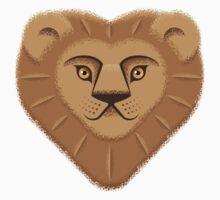 Lion Heart One Piece - Long Sleeve
