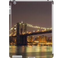 Brooklyn Bridge, Manhattan  iPad Case/Skin