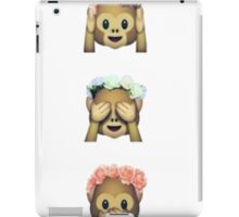 Monkey Emoji iPad Case/Skin
