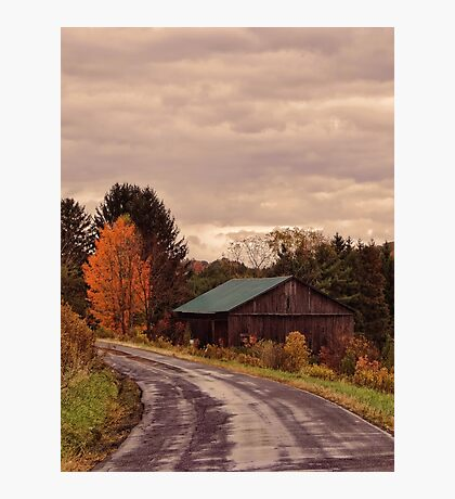 Fall Ride Photographic Print
