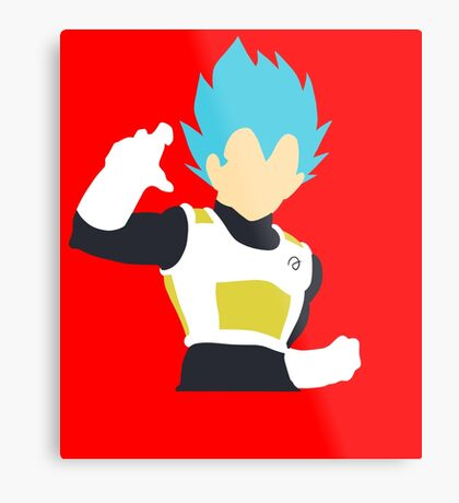 Vegeta (Super Saiyan Blue) Metal Print