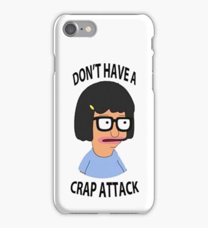 Tina Crap Attack iPhone Case/Skin