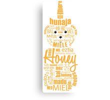 The Language of Honey Canvas Print