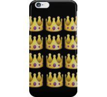 Emoji crown iPhone Case/Skin
