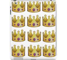 Emoji crown iPad Case/Skin